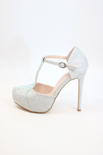 Prom Shoes Silver (Style 200-88)
