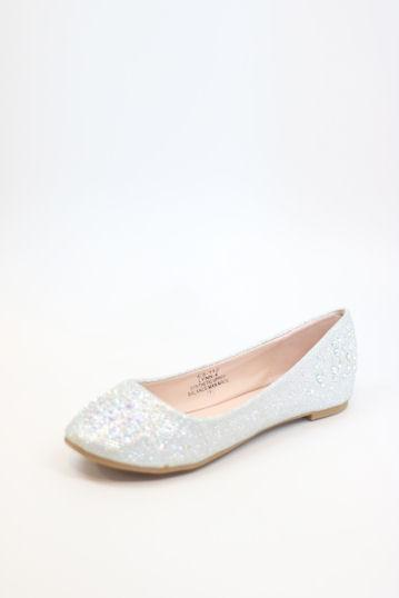 Dressy Flats Silver (Style 200-89)