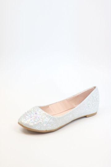 Prom Flats Silver (Style 200-89)