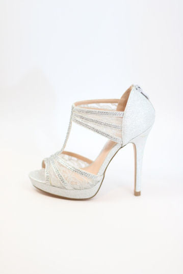 Prom Shoes Silver (Style 200-93)