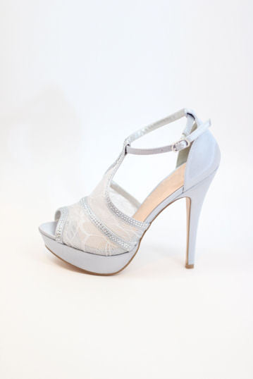 Prom Shoes Silver (Style 200-96)