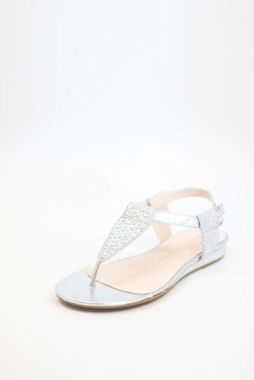 Prom Flats Silver (Style 200-97)
