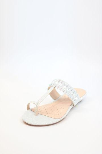 Prom Flats Silver (Style 200-98)