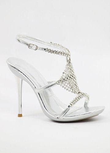 Prom Shoes Silver (Style 500-15)