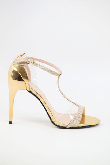 Homecoming Shoes Gold (Style 300-12)