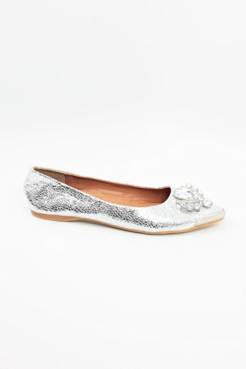 Prom Shoes Silver (Style 300-15)