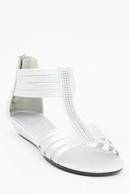 Prom Flats Silver (Style 350-1)