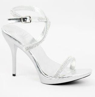 Prom Shoes Silver (Style 450-4)