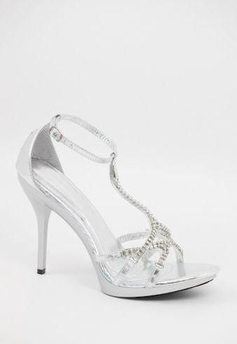 Prom Shoes Silver (Style 800-66)