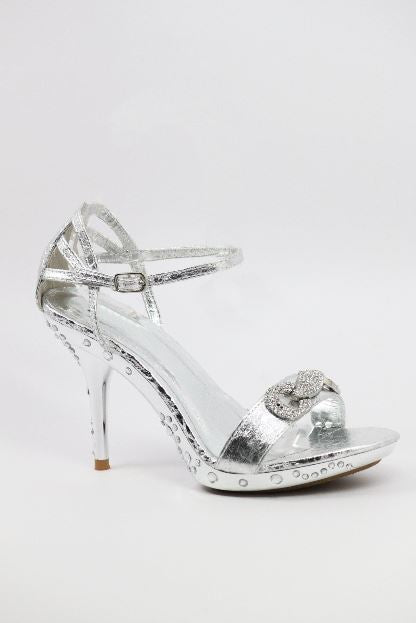 Prom Shoes Silver (Style 500-26)