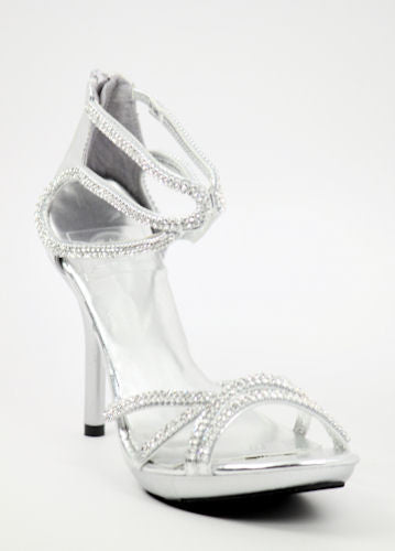 Prom Shoes Silver (Style 800-56)