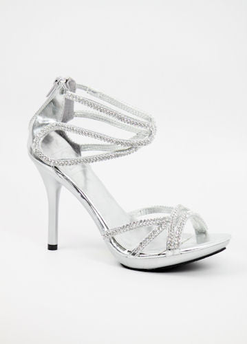 Prom Shoes Silver (Style 800-57)