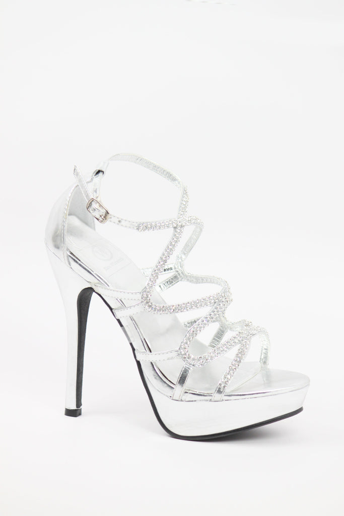 467fed1e2bd Prom Shoes Silver (Style 800-57)