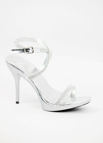 Prom Shoes Silver (Style 800-61)
