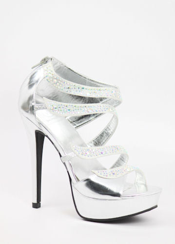 Prom Shoes Silver (Style 800-63)