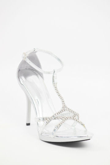 Prom Shoes Silver (Style 800-65)