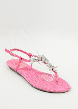 Dressy Flats Pink (Style 800-74)