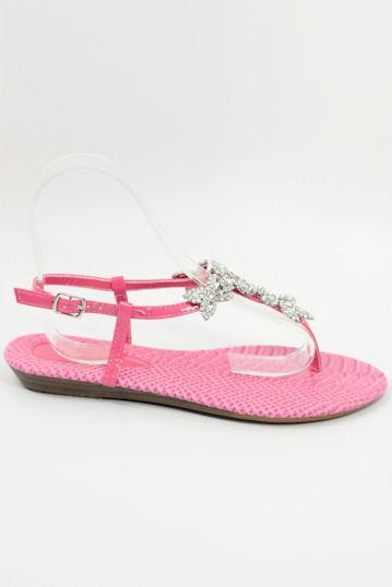 Wedding Flats Pink (Style 800-74)