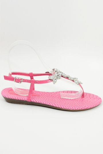 Flat Homecoming Shoes Pink (Style 800-74)