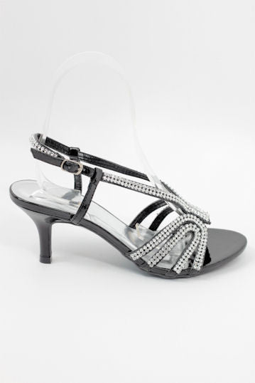 Prom Shoes Black (Style 800-81)