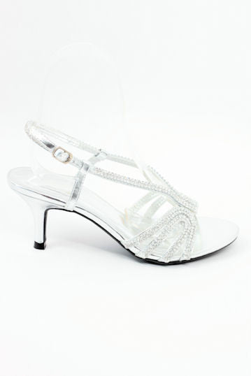 Prom Shoes Silver (Style 800-82)