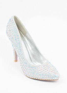 Prom Shoes Silver (Style 95-1)