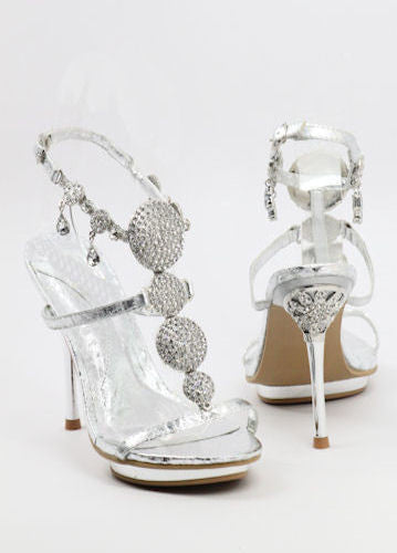 Prom Shoes Silver (Style 500-23)