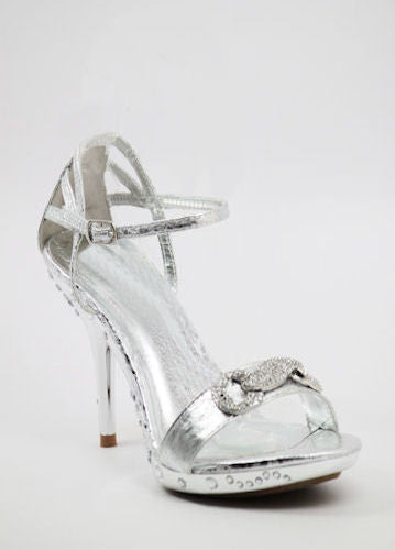 Prom Shoes Silver (Style 500-28)