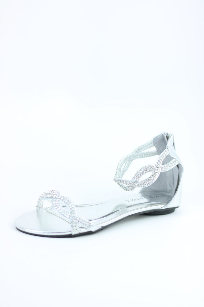 Dressy Flats Silver (Style 800-45)