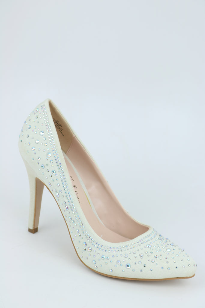Prom Shoes White (Style 200-90)