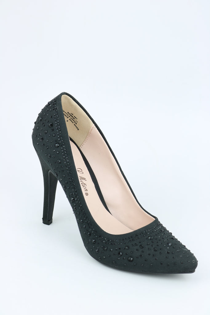 Prom Shoes Black (Style 200-92)
