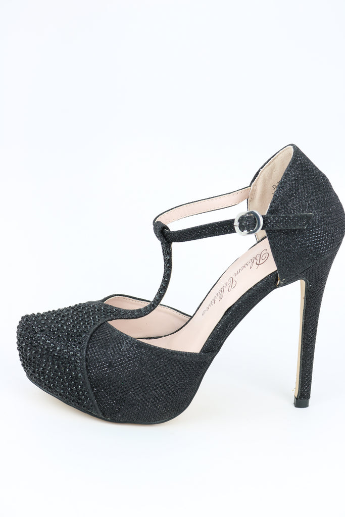 Prom Shoes Black (Style 200-91)