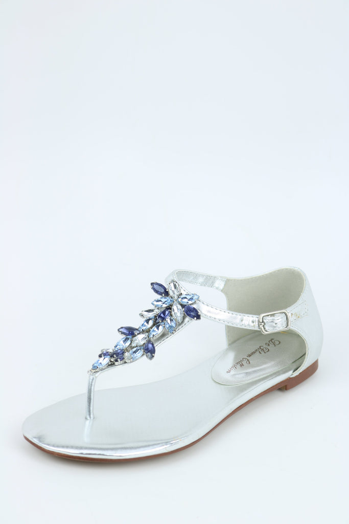 Silver Flats For Wedding.Silver Flats Style 200 55