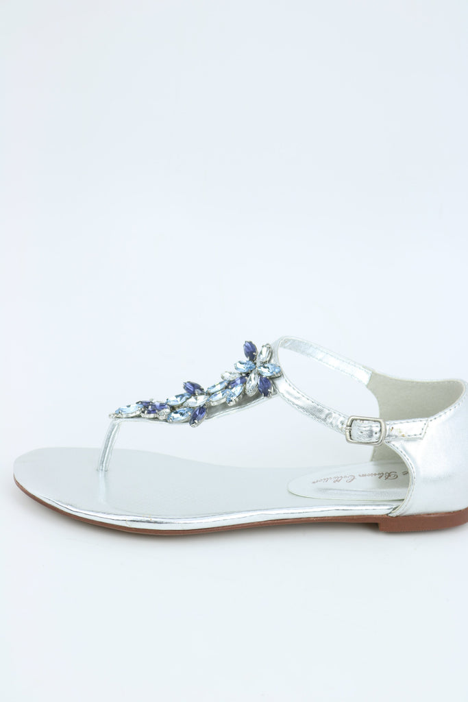 Prom Flats Silver (Style 200-55)