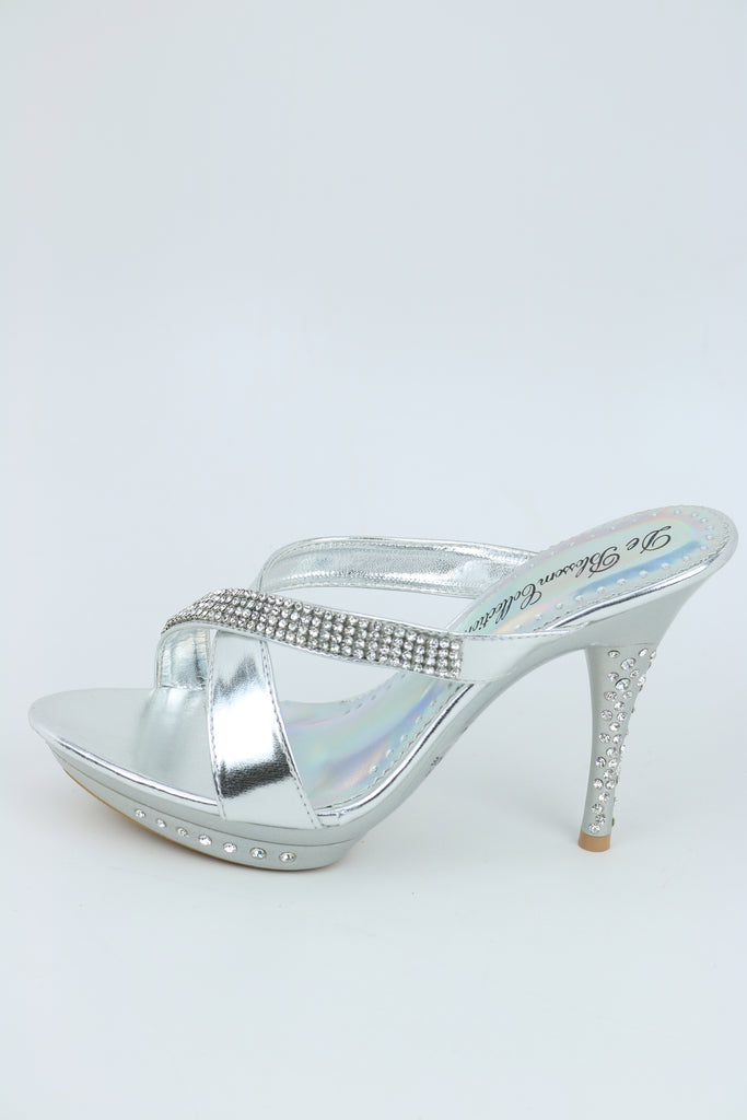 Wedding & Prom Shoes Silver (Style 200-36)