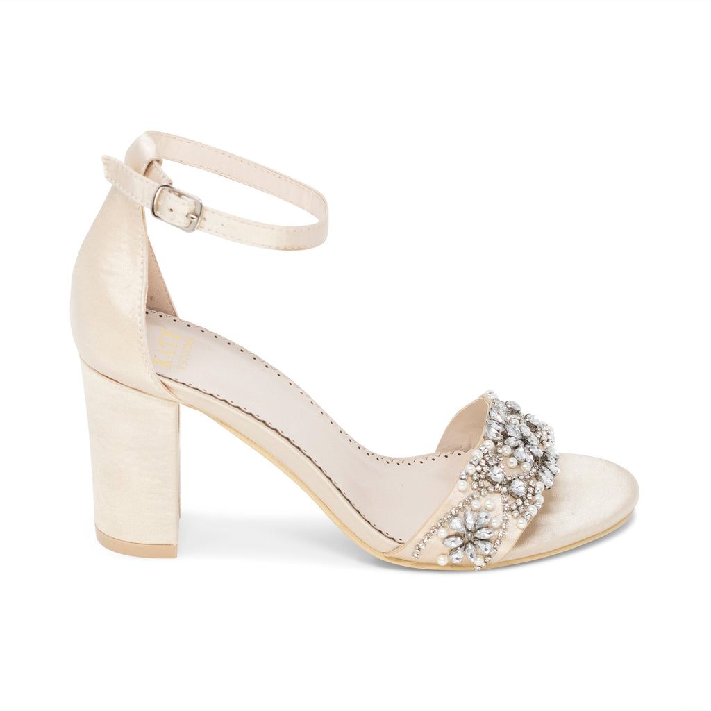 Prom Shoes Champagne (Style 125-16)