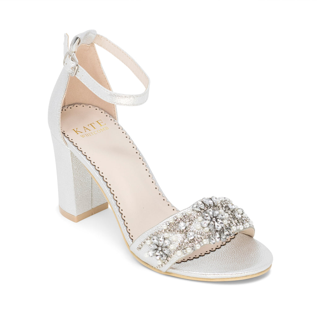 prom shoes silver cheap online