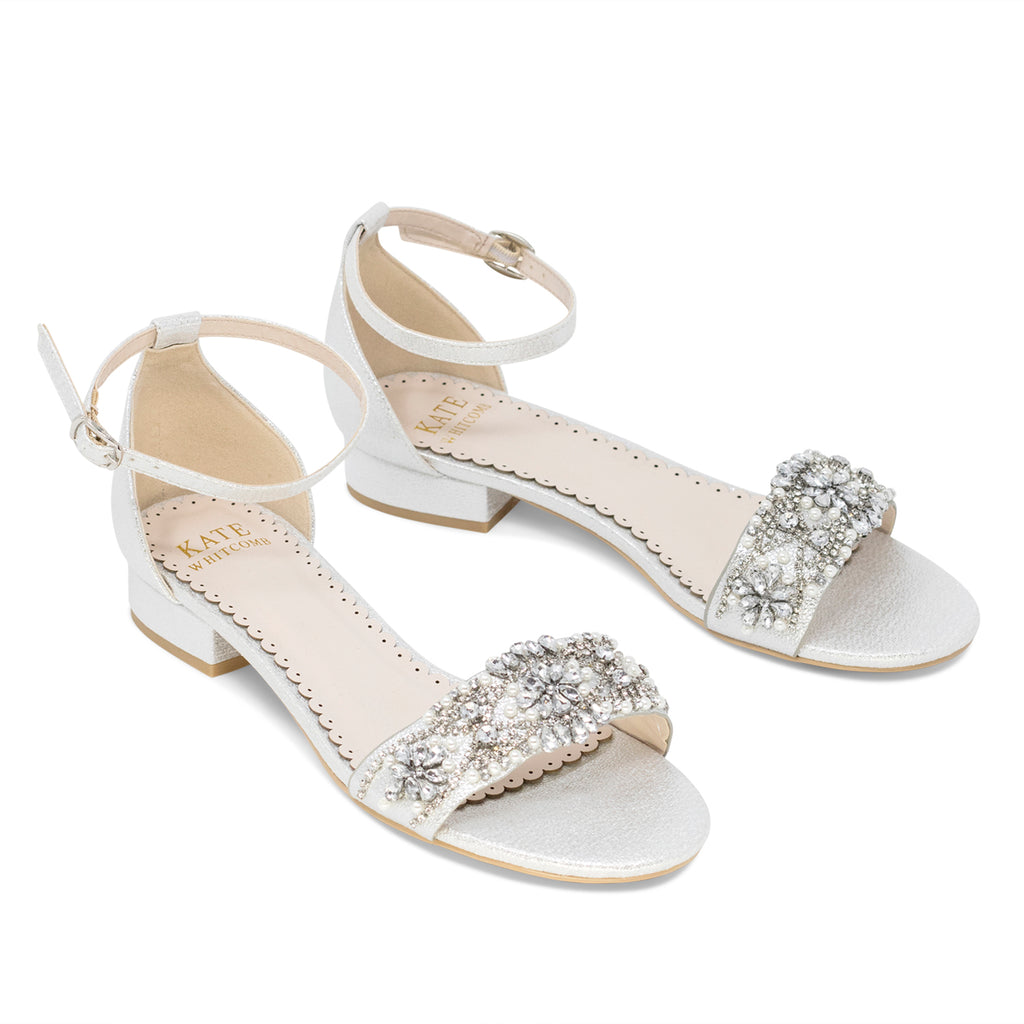 Prom Flats Silver (Style 125-11)