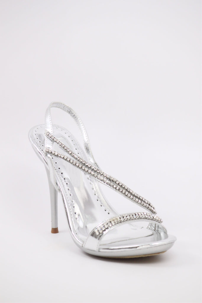 Homecoming Shoes Silver (Style 200-38)