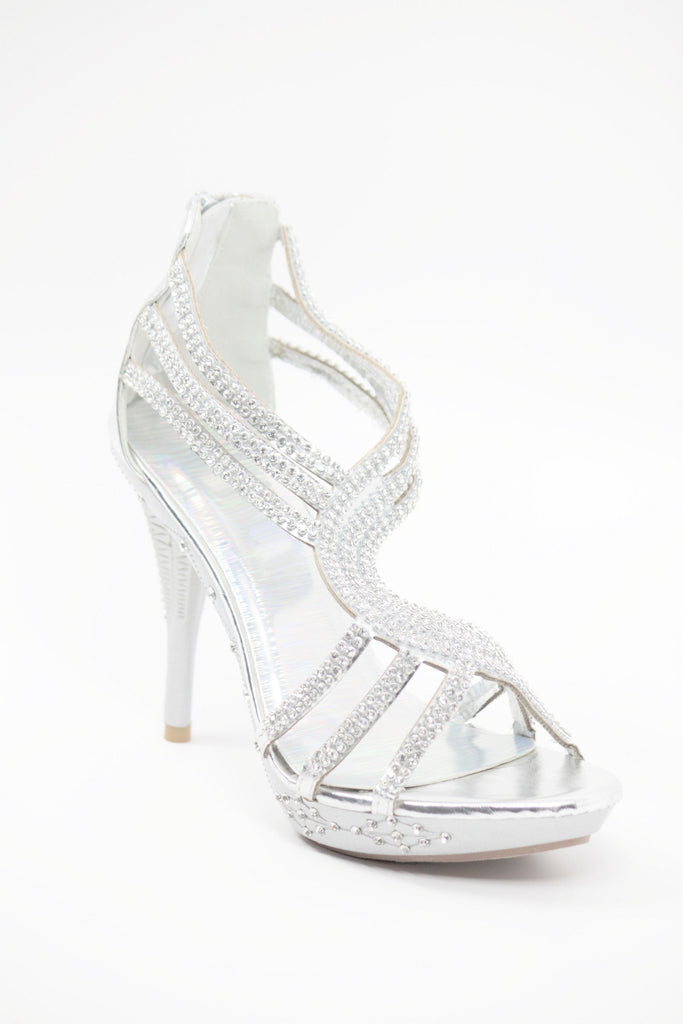 Prom Shoes Silver (Style 450-5)