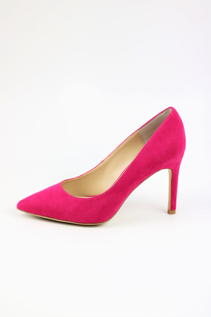 Homecoming Shoes - Pink Pumps (Style Eva)