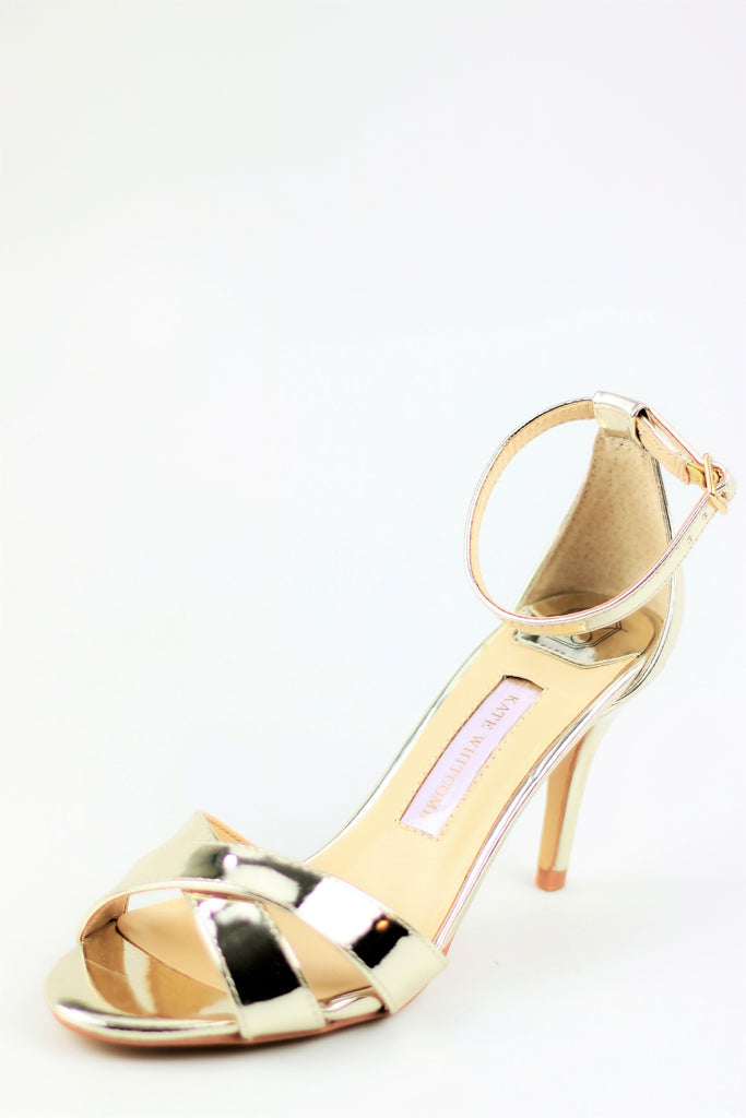 Prom Shoes - Sandals Gold (Style Liz)