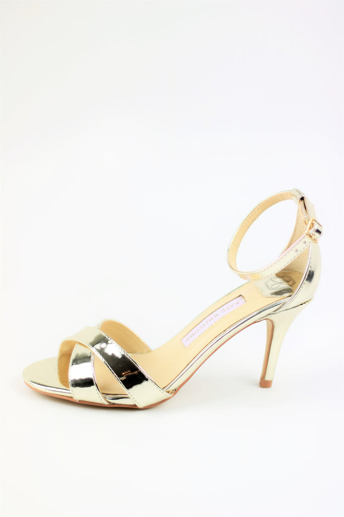 Homecoming Shoes - Sandals Gold (Style Liz)