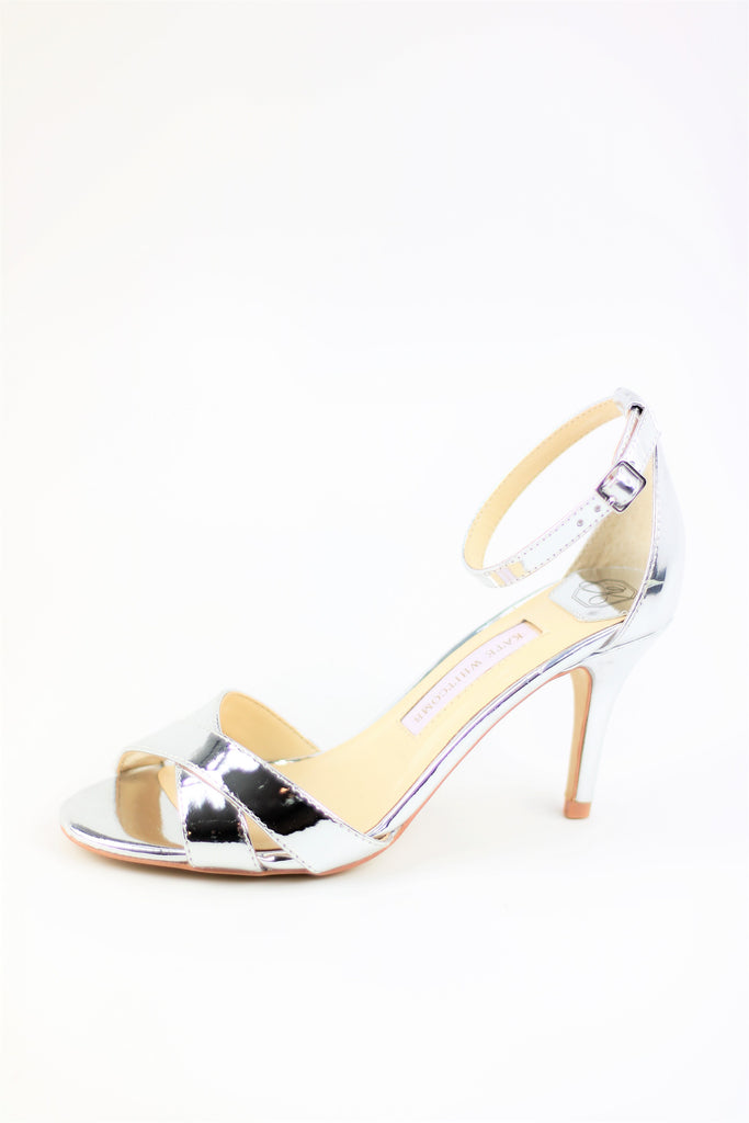 Prom Shoes - Sandals Silver (Style Liz)