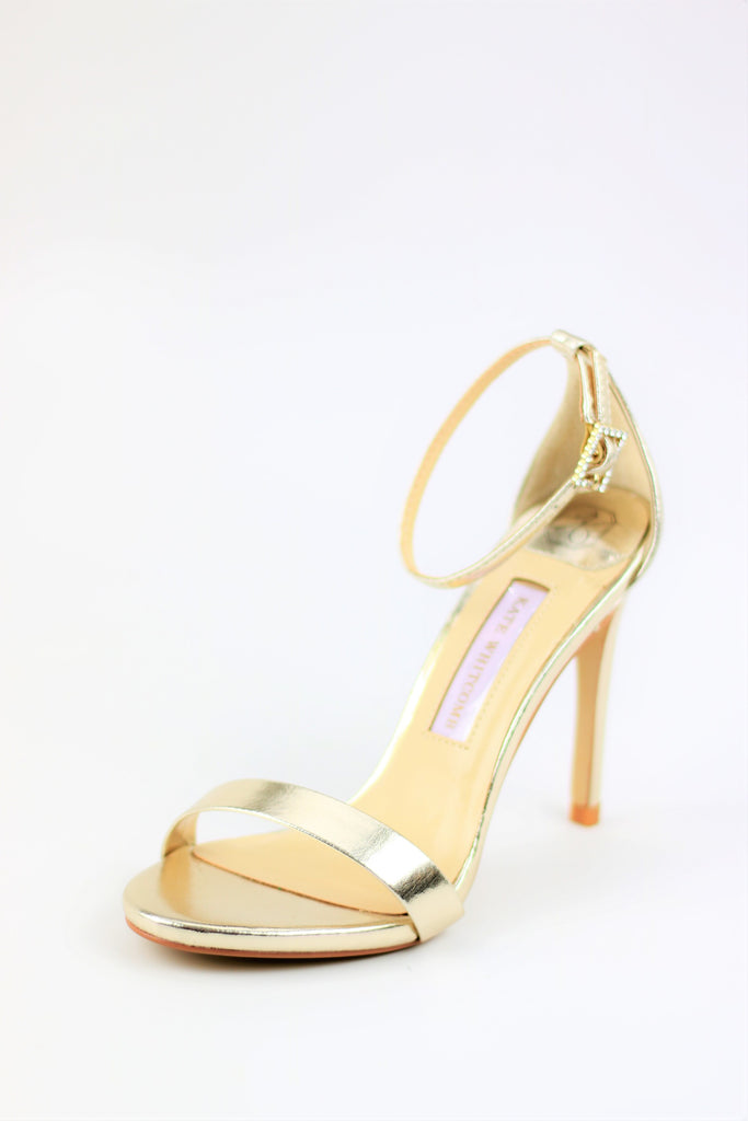 Homecoming Shoes - Gold Sandals (Style Sam)