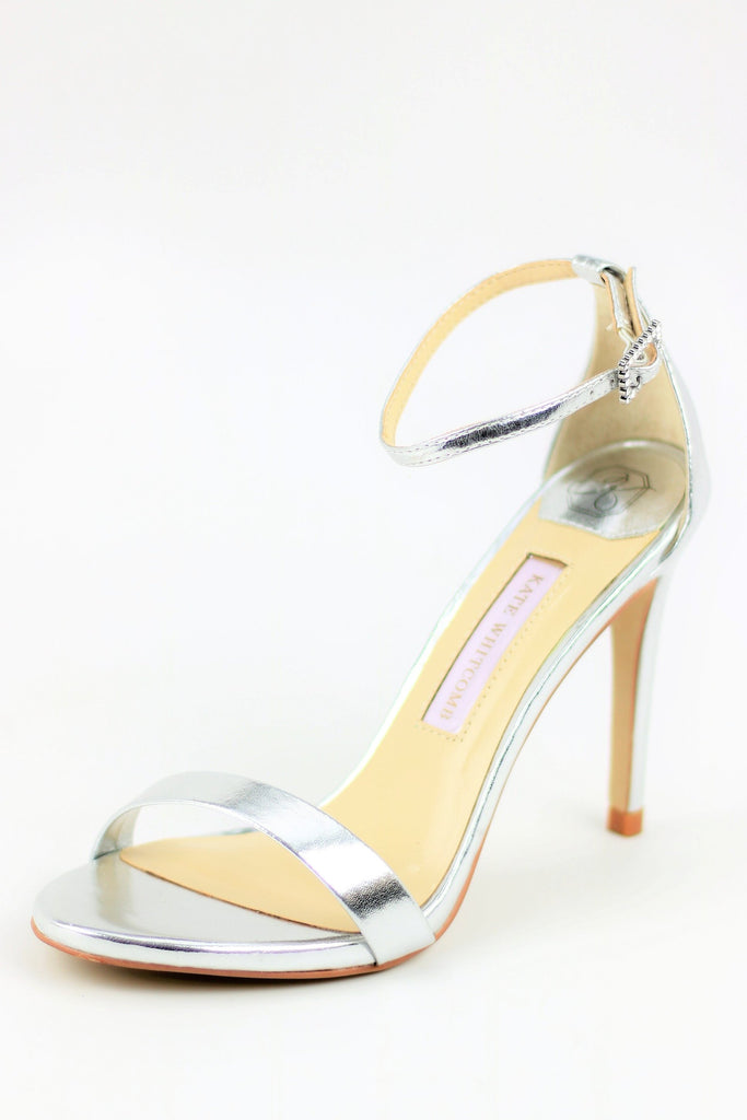Homecoming Shoes - Silver Sandals (Style Sam)