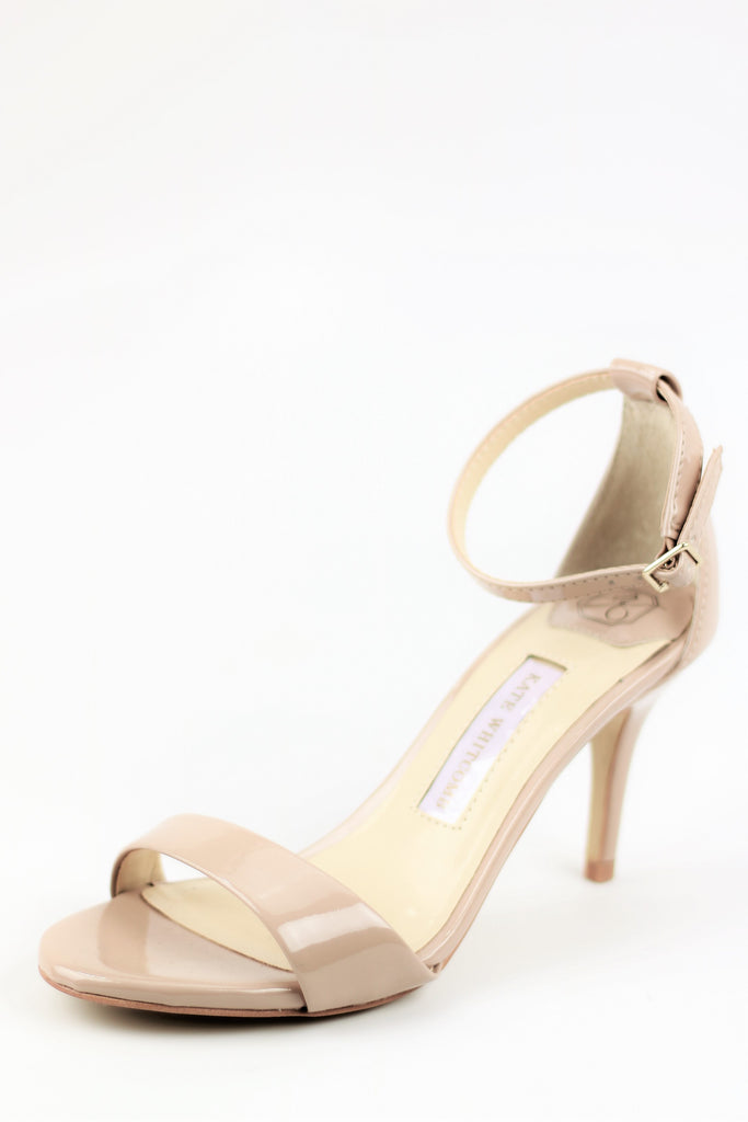 Prom Shoes - Nude Sandals (Style Vera)
