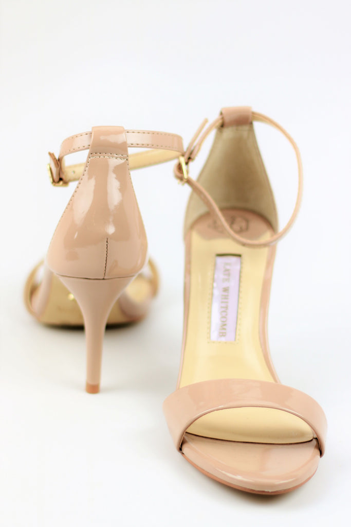 Homecoming Shoes - Nude Sandals (Style Vera)