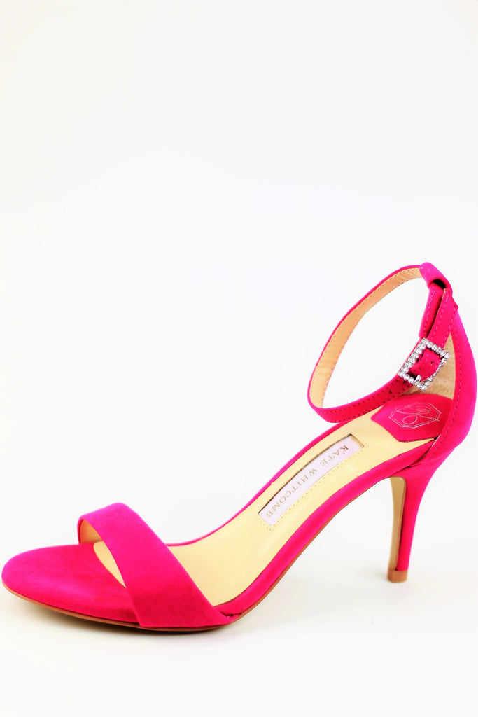 Homecoming Shoes - Pink Sandals (Style Vera)