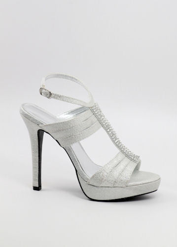 Prom Shoes Silver (Style 200-46)